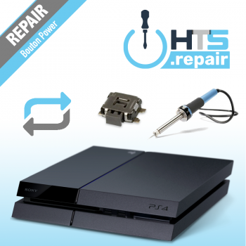 Remplacement bouton Power PS4 Slim.