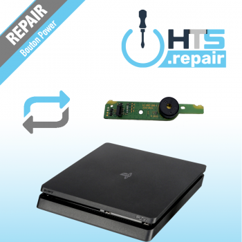 Remplacement boutton Power PS4 Slim.