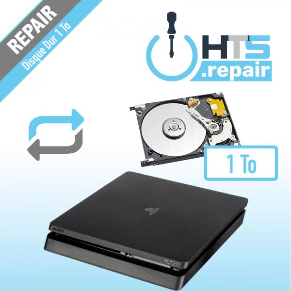 Remplacement disque dur 1To pour PS4 Slim.