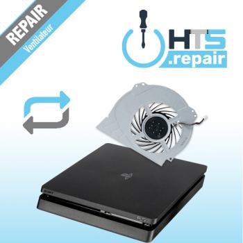 Remplacement ventilateur PS4 Slim.