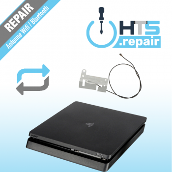 Remplacement antenne Wifi/Bluetooth PS4 Slim.