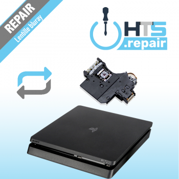 Remplacement lentille Bluray PS4 Slim.