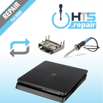 Remplacement port HDMI PS4 Slim