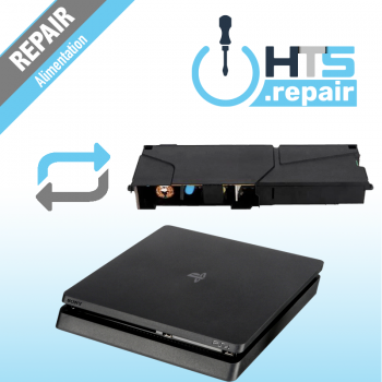 Remplacement alimentation PS4 Slim.