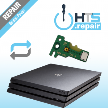 Remplacement bouton power ps4 pro