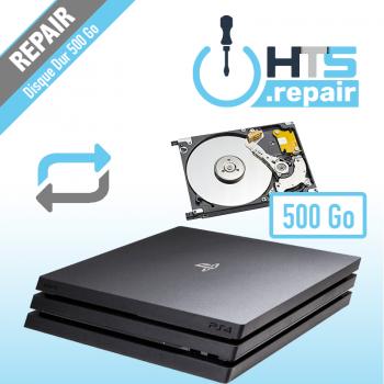 Remplacement disque dur 500Go PS4 Pro