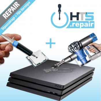 Dépoussièrage et remplacement de la pâte thermique PS4 Pro