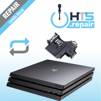Remplacement lentille Bluray PS4 Pro