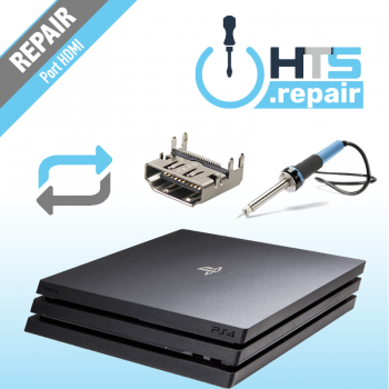 Remplacement port HDMI PS4 Pro
