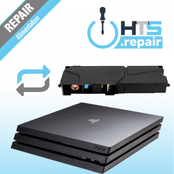 Remplacement alimentation PS4 Pro