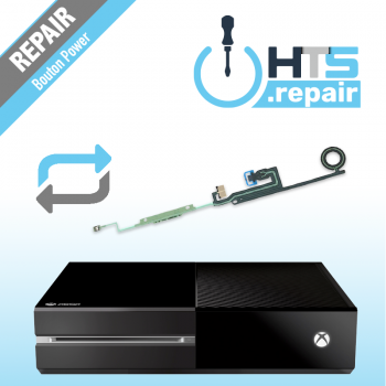 Remplacement bouton power Xbox One