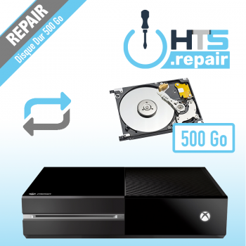 Remplacement disque dur 500Go Xbox One