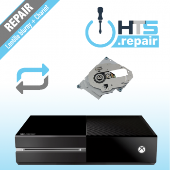 Remplacement lentille Bluray + chariot Xbox One