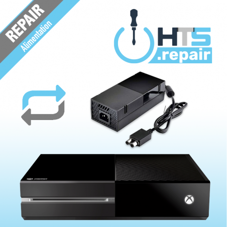 Remplacement alimentation Xbox One