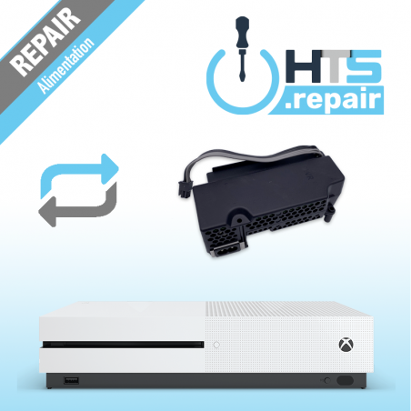 Remplacement alimentation Xbox One S