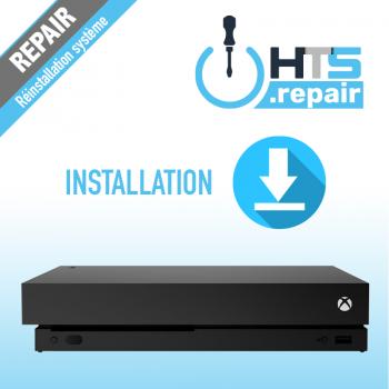 Réinstallation système Xbox One X