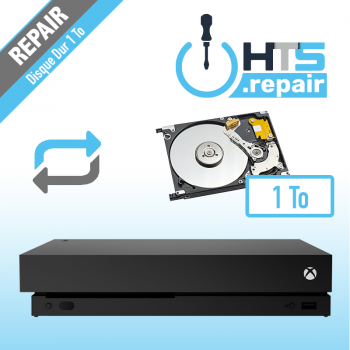 Remplacement disque dur 1To Xbox One X