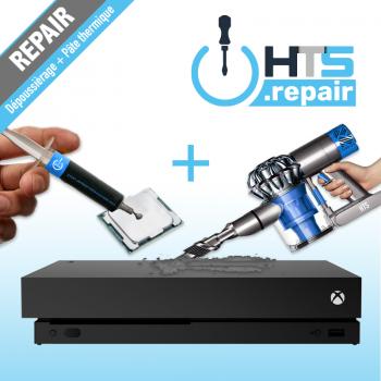 Dépoussièrage et remplacement de la pâte thermique Xbox One X