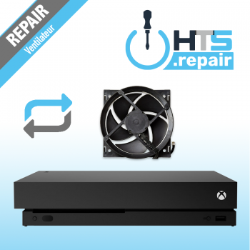 Remplacement ventilateur Xbox One X