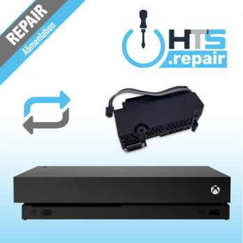 Remplacement alimentation Xbox One X