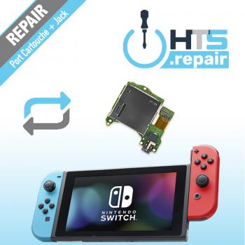 Remplacement port cartouche jeux Nintendo Switch