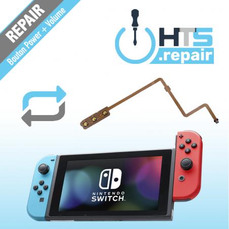 Remplacement bouton power et volume Nintendo Switch