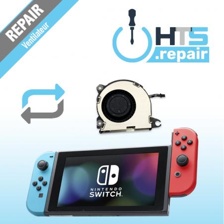 Remplacement ventilateur Nintendo Switch