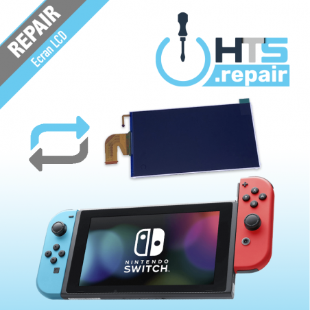 Remplacement écran LCD Nintendo Switch