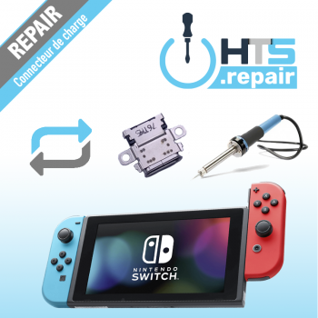 Remplacement connecteur de charge Nintendo Switch