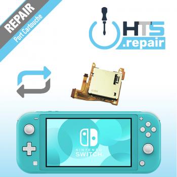 Remplacement port cartouche jeux Nintendo Switch lite