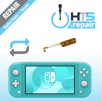 Remplacement bouton power et volume Nintendo Switch lite