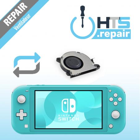 Remplacement ventilateur Nintendo Switch lite