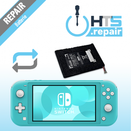Remplacement batterie Nintendo Switch lite