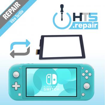 Remplacement vitre tactile Nintendo Switch lite