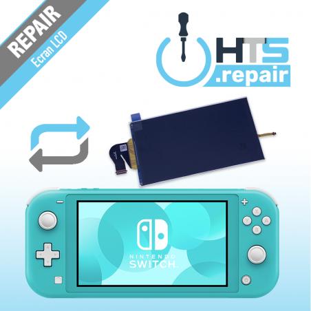 Remplacement écran LCD Nintendo Switch lite