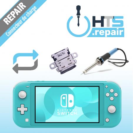 Remplacement connecteur de charge Nintendo Switch lite