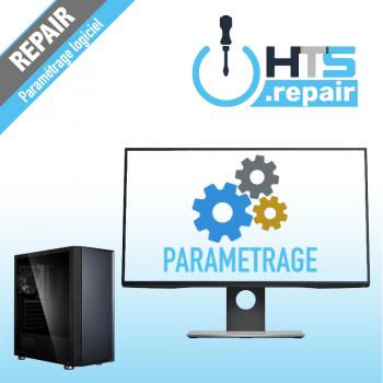Paramétrage logiciel