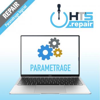 Paramétrage logiciel PC portable