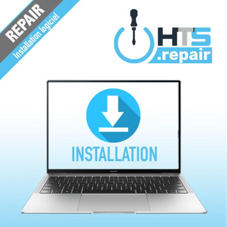 Installation logiciel PC portable