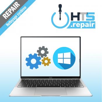 Nettoyage système d'exploitation PC portable