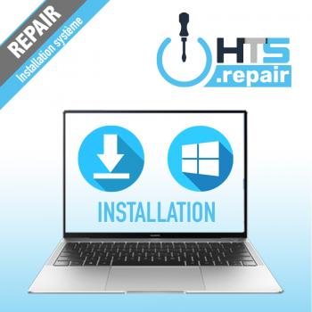 Réinstallation système d'exploitation PC portable