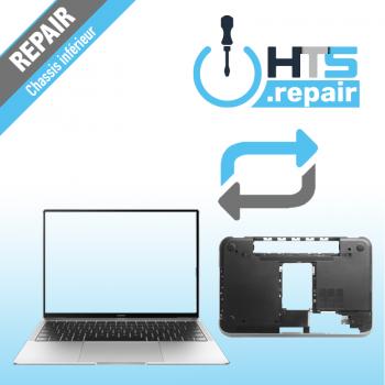 Remplacement chassis inférieur PC portable