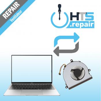Remplacement ventilateur PC portable