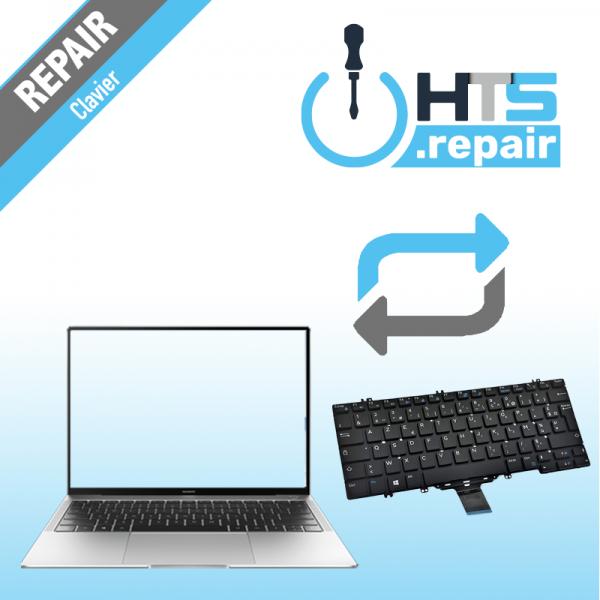 Remplacement clavier PC portable