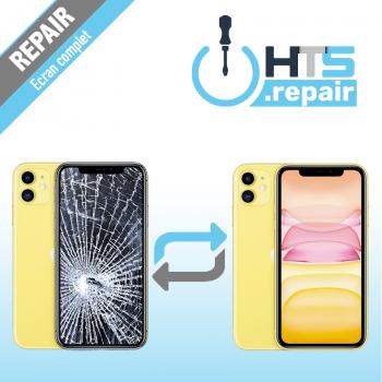Remplacement écran complet (LCD + Tactile) Apple iPhone 11