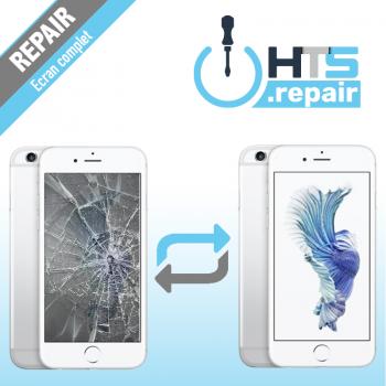 Remplacement écran complet (LCD + Tactile) Apple iPhone 6S blanc