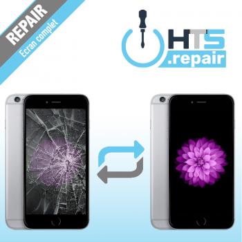 Remplacement écran complet (LCD + Tactile) Apple iPhone 6 Plus noir