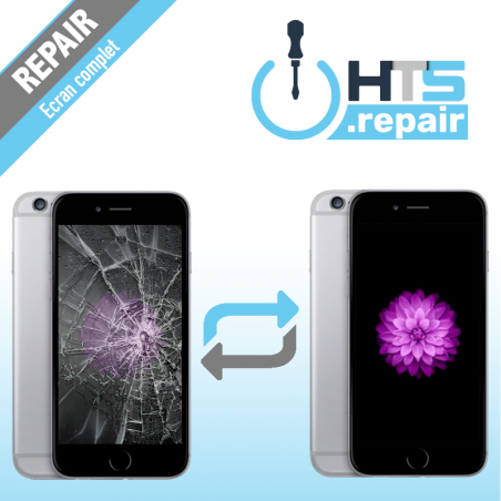 Remplacement écran complet (LCD + Tactile) Apple iPhone 6 noir
