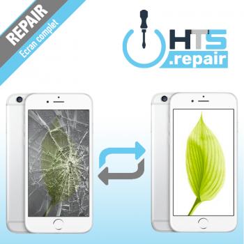 Remplacement écran complet (LCD + Tactile) Apple iPhone 6 blanc