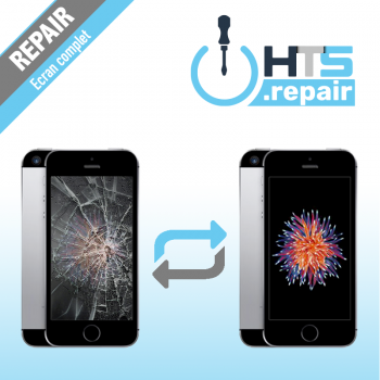 Remplacement écran complet (LCD + Tactile) Apple iPhone SE noir